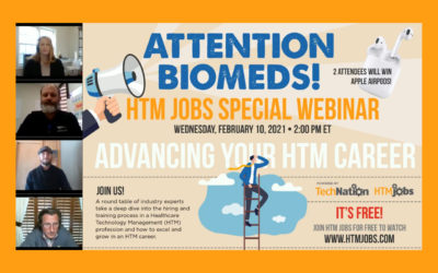 Webinar: Advancing Your HTM Career